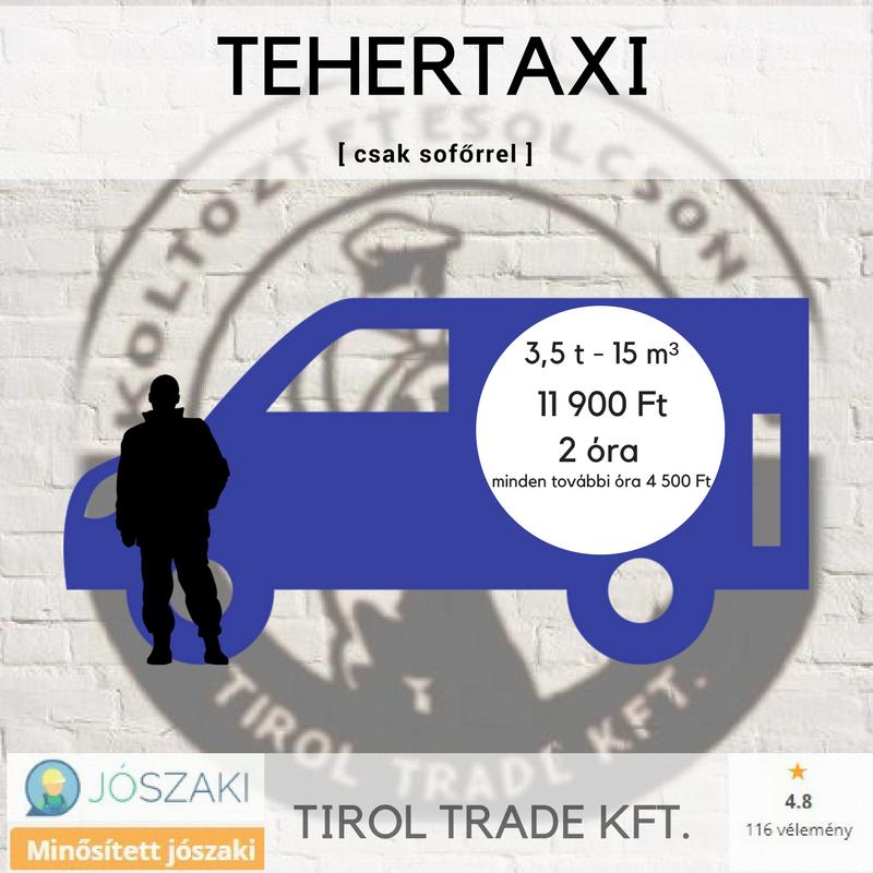 TEHERTAXI (olcsóbb)