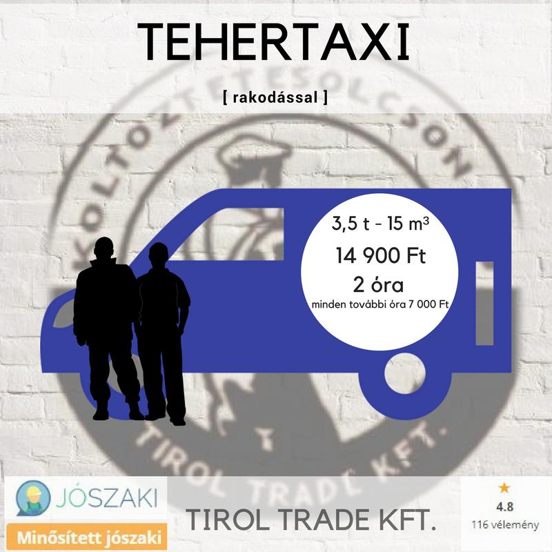 TEHERTAXI+1 (olcsóbb)