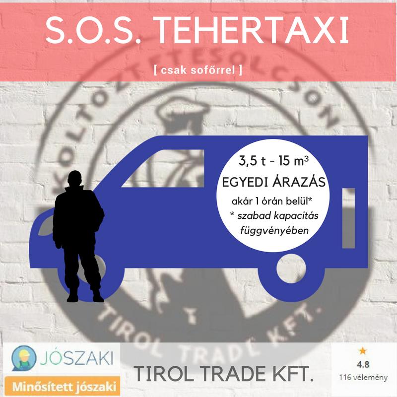 Tehertaxi (SOS) sofor