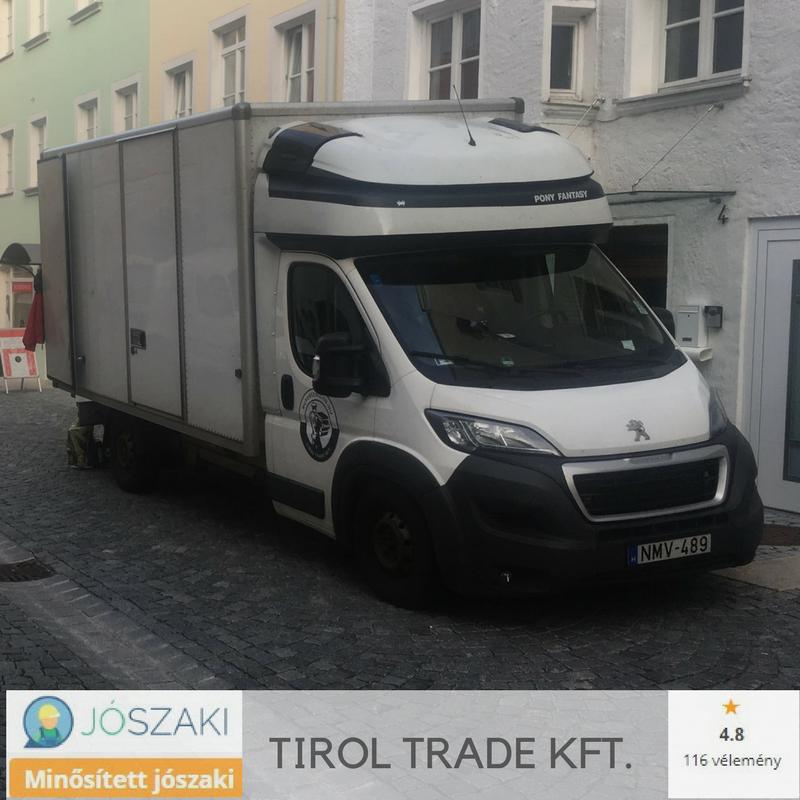 budapesti költöztetés zárt felépítményű teherautóval